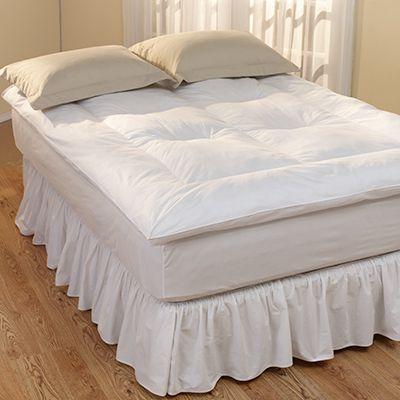 Restful Nights Down Alternative Fiber Bed Topper