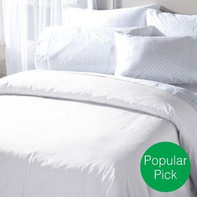 Elegance Allergy White Comforter Covers